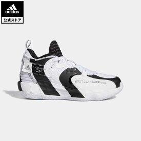 【公式】アディダス adidas 返品可 バスケットボール デイム 7 EXTPLY / Dame 7 EXTPLY メンズ シューズ・靴 スポーツシューズ 白 ホワイト GW2804 バッシュ