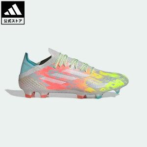 【公式】アディダス adidas 返品可 サッカー エックス スピードフロー.1 FG / 天然芝用 / X Speedflow.1 FG レディース メンズ シューズ・靴 スパイク グレー FY6866 サッカースパイク