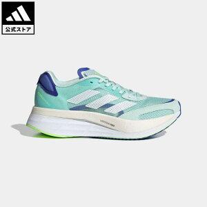 【公式】アディダス adidas 返品可 ランニング アディゼロ ボストン 10 / Adizero Boston 10 レディース シューズ・靴 スポーツシューズ 緑 グリーン FZ2496 ランニングシューズ