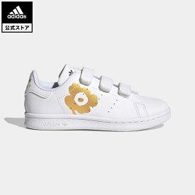 【公式】アディダス adidas 返品可 マリメッコ スタンスミス / Marimekko Stan Smith オリジナルス キッズ シューズ・靴 スニーカー 白 ホワイト H04684 ローカット