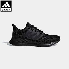 【公式】アディダス adidas 返品可 ランニング アディダスランファルコン / adidasRunfalcon レディース メンズ シューズ・靴 スポーツシューズ 黒 ブラック F36549 ランニングシューズ