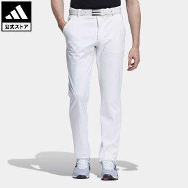 【公式】アディダス adidas 返品可 ゴルフ EX STRETCH ACTIVE ボンディング防風ロングパンツ メンズ ウェア・服 ボトムス パンツ 白 ホワイト GV1170