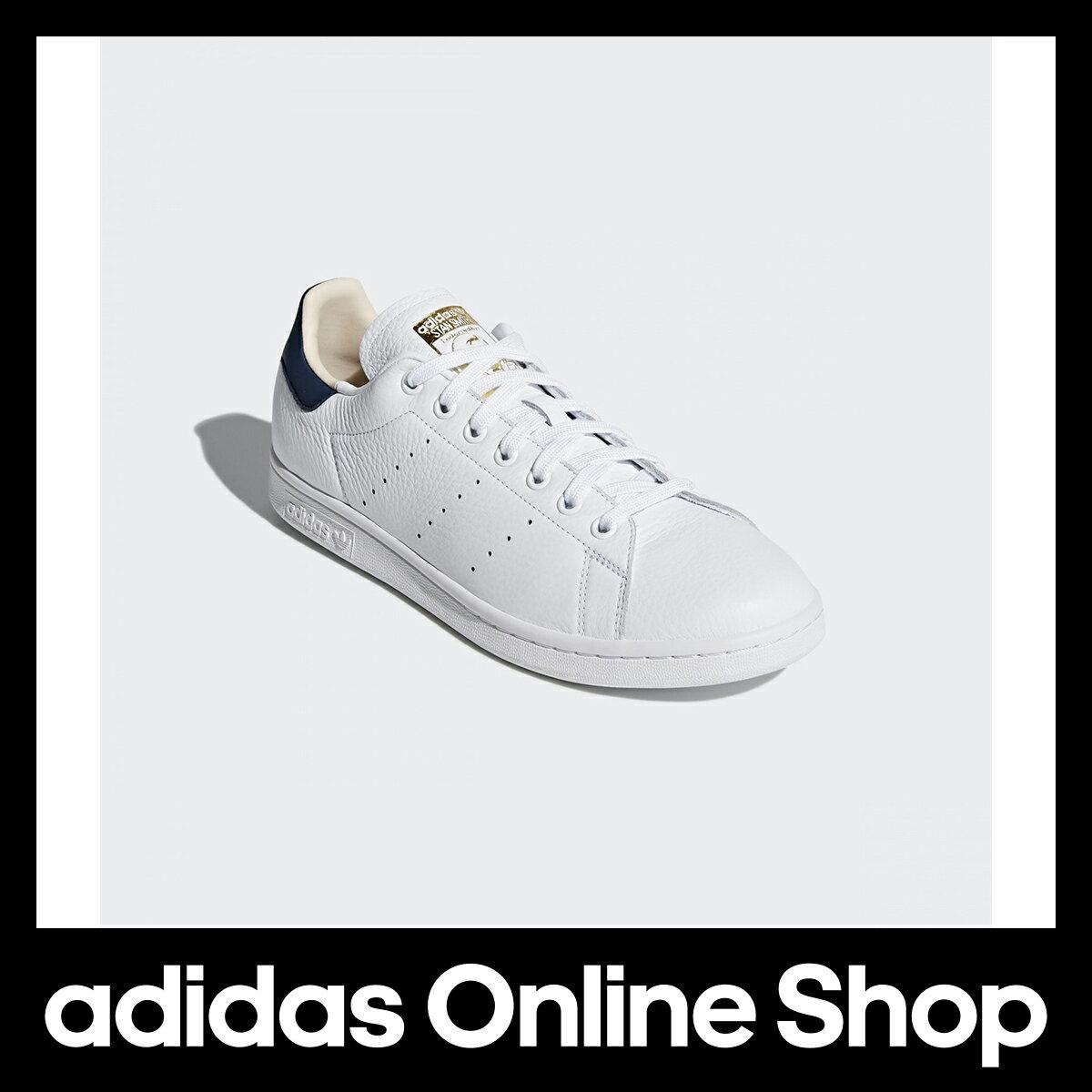 【公式】アディダス adidas オリジナルス STAN SMITH メンズ CQ2201 シューズ 天然皮革 ゴム底