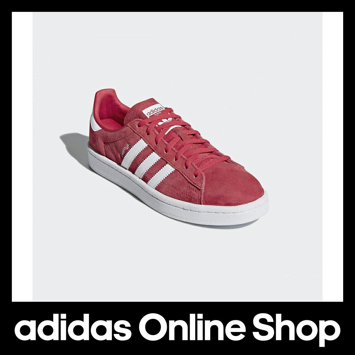 【公式】アディダス adidas CAMPUS W レディース DB1018 シューズ 合成繊維 ゴム底