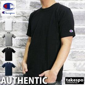 新作 チャンピオン メンズ Tシャツ 上 半袖 無地 C3X301 アウトレット Champion|スポーツウェア トレーニングウェア 大きいサイズ 有 スポーツ おしゃれ ブランド