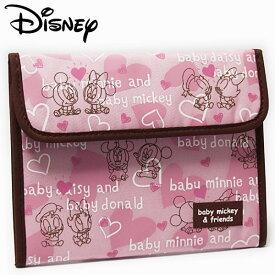ベビーミッキー&フレンズ ジャバラマルチケース レディース Disney Baby Mickey and Friends ディズニー キャラクター 手帳入れ 【RCP】