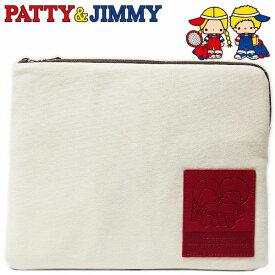 パティ&ジミー フラットポーチ スウェットポーチシリーズ レディース キッズ Patty and Jimmy サンリオ キャラクター グッズ 小物入れ 【RCP】
