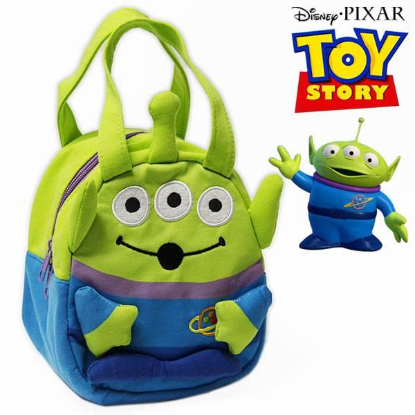 トイ・ストーリー スエット素材ダイカットバッグ エイリアン レディース キッズ Disney Pixar Toy Story ディズニー ピクサー キャラクター カバン KNBD1 【RCP】