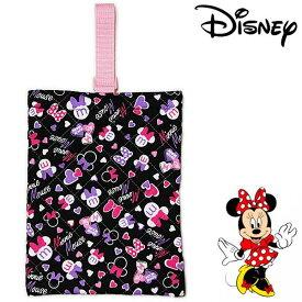 ミニーマウス キルト シューズバッグ 18 キッズ Disney Minnie Mouse 靴入れ ディズニー キャラクター カバン 通園 通学 【RCP】