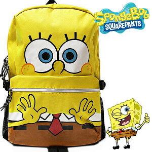 スポンジ・ボブ リュックサック レディース キッズ SpongeBob SquarePants キャラクター カバン デイバッグ バックパック 【RCP】