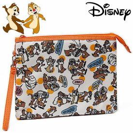 チップとデール 3ポケットマルチケース レディース Disney Chip 'n Dale ディズニー キャラクター グッズ 手帳入れ 【RCP】