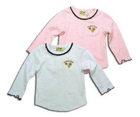 【子供服】 甘いなつめえりのフリルが可愛いニットカットソー(濠Du)子供 誕生日プレゼント 子ども 子供服 ブランド 上品 アドゥラブル