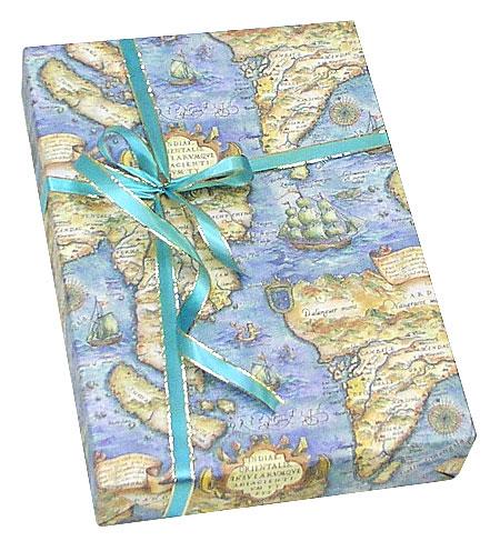 アドゥラブルのオリジナルギフトボックス【世界地図】