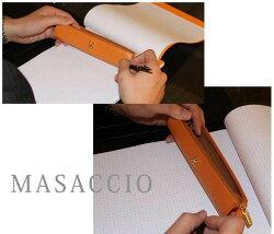 【ペンケース】【MASACCIO】カウナッパスリムペンケース002ペンケース革/ペンケースブランド/【150905coupon500】