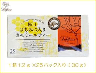 最好的蜂蜜与洋甘菊茶 (曼萨尼亚,MIEL,掌门人) 1.2 g x 25 袋 (30 克)