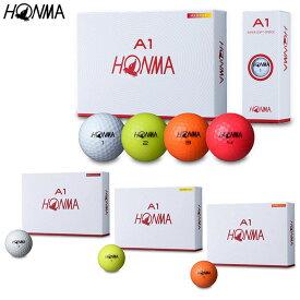 HONMA GOLFA1 ゴルフボール(2019年モデル) 1ダース(12個入り)【BT-1905】本間ゴルフ ホンマゴルフ