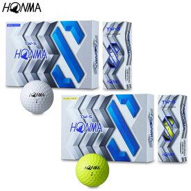HONMA GOLFTW-S ゴルフボール(2019年モデル) 1ダース(12個入り)【BT-1904】本間ゴルフ ホンマゴルフ