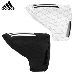 【一部即納OK】adidas -アディダス-3ストライプ パターカバー BL【IZT53】ブレード型パター用 ヘッドカバー