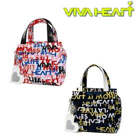 VIVA HEART ロゴ×スローガン PT カートバッグ レディース【013-83861】【ビバハート】