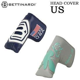 【週末はポイント5倍】BETTINARDI -ベティナルディ- ヘッドカバー US パターカバー ピンタイプ 2019年モデル
