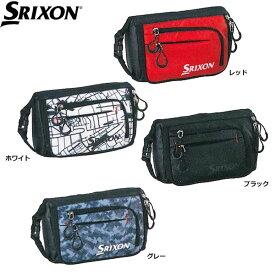 【一部即納OK】ダンロップ -DUNLOP-SRIXON(スリクソン)ラウンドポーチ【GGF-B4012】