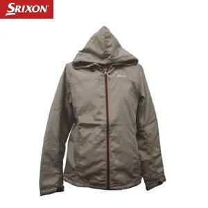 【即納OK♪】ダンロップSRIXON -スリクソン-レディースフード付中綿長袖ブルゾン 【SLW3061】