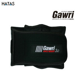 HATAS -秦(はた)運動具- Gawri(ガウリ) アンクルウエイト 3kg(2個セット)【GWS3000】