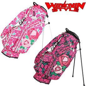 WINWIN STYLE -W STYLE- ROSE GARDEN LIGHT WEIGHT STAND BAG 軽量スタンドバッグ キャディバッグ 【CB-647】【CB-648】【smtb-ms】【ウィンウィン スタイル】