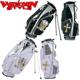WINWIN STYLE YANCHA SKULL スパンコール STAND BAG スタンド キャディバッグ 【CB-649】【CB-650】【ウィンウィン スタイル】