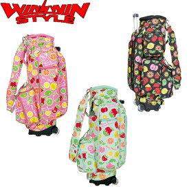 WINWIN STYLE FRUITS PARADISE TROLLY CART BAG トロリー カート キャディバッグ 【CB-660】【CB-659】【CB-658】【ウィンウィン スタイル】