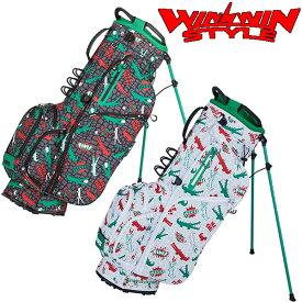 WINWIN STYLE -PS SPORTS- ALLIGATOR LIGHT WEIGHT STAND BAG 軽量スタンドバッグ キャディバッグ 【CB-941】【CB-942】【smtb-ms】【ウィンウィン スタイル】