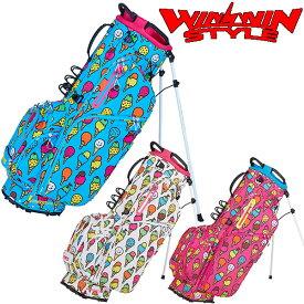 WINWIN STYLE -PS SPORTS- ICE CREAM LIGHT WEIGHT STAND BAG 軽量スタンドバッグ キャディバッグ 【CB-946】【CB-947】【CB-948】【smtb-ms】【ウィンウィン スタイル】