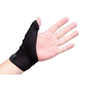 親指サポーター ばね指 腱鞘炎 突き指 手首固定 関節症 捻挫 親指付け根の骨折 脱臼 フリーサイズ 1枚(左右兼用)