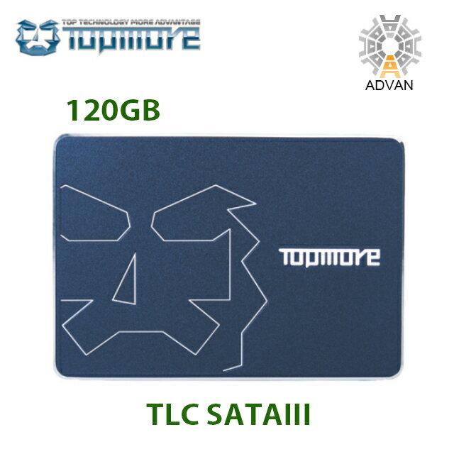 【正規品!純正品!】送料無料!新発売!TOPMORE トップモア2.5インチTLC SATAIII SSDカード(120GB) 伝送スピードが安定し、データは有効に保存される 日本語説明書付き