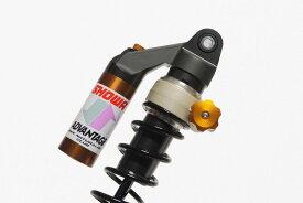 ADVANTAGE SHOWA RS-γリアサスペンション(油圧イニシャルアジャスター)ダイアモンドブラックHONDA Monkey125('18- ダウンタイプマフラー対応)