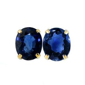 【ご注文後10%OFF】サファイア ピアス 0.70ct(Total)〜 --オーバルミックスカット K18 0.7カラット 0.7ct サファイア sapphire ピアス pierce ブルー blue ロイヤルブルー 18金 k18 サファイアピアス sapphirepierce