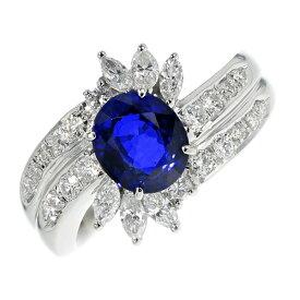 【ご注文後5%OFF】サファイア リング 1.864ct オーバルミックスカット Pt プラチナ Pt900 指輪 天然 サファイア サファイヤ ダイヤモンド ダイヤ ダイヤモンドリング リング ring diamond ロイヤルブルー