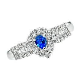 アウイナイト リング 0.138ct ペアシェイプミックスカット プラチナ Pt Pt900 アウイナイトリング 天然 藍方石 アウイン ダイヤモンド ダイヤ 指輪 指環 ring diamond レア 希少 色石