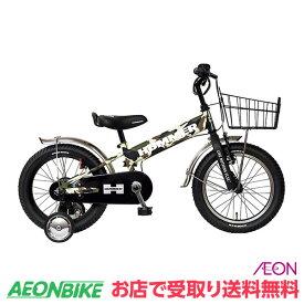 【お店受取り送料無料】 ハマー (HUMMER) 16インチ KID'S TANK3.0-SE キッズバイク 迷彩グリーン 16型 変速なし 子供用自転車
