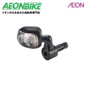 OGK技研 LED内臓バックミラー BM-001ブラック【ミラー】【ツーリング】【自転車】【店舗受取対象外】