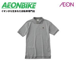 ポイント15倍!カペルミュール (KAPELMUUR) 半袖ポロシャツ 杢グレー Mサイズ kphs152 サイクルウェア