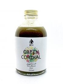 水ソムリエが作ったハーブコーディアル Mill(ミル) GREEN CORDIAL 250ml