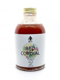 水ソムリエが作ったハーブコーディアル Mill(ミル) RED CORDIAL 250ml