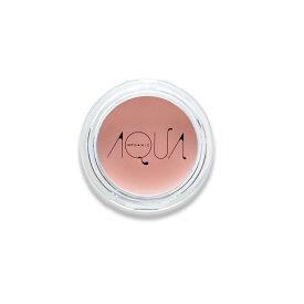 AQUA・AQUA(アクア・アクア) オーガニッククリームチーク 02ミルキーフィグ 3g