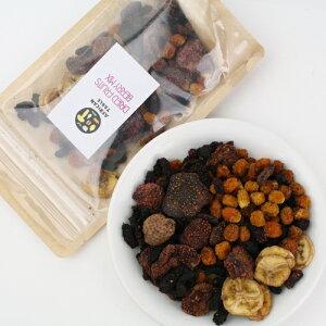 アフリカンドライフルーツ ベリーミックスS【70g】砂糖不使用 無添加 ヨーグルト フルーツティー サングリア デトックスウォーター