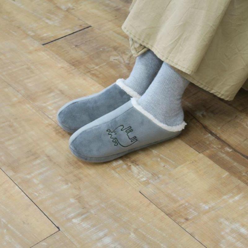 moz ルームシューズ ボア/M モズ 北欧 スウェーデン スリッパ シューズ 部屋履き おしゃれ 暖かい 冬 やさしい 洗える ギフト プレゼント