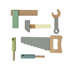 sebra ウッドツール 工具セット セバ デンマーク ねじ 工具 知育玩具 木 自然 ナチュラル 幼児 3才 プレゼント お祝い