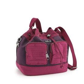 キプリング正規品 ショルダーバッグ MOULINE(Craft Berry Blk) K1433833P
