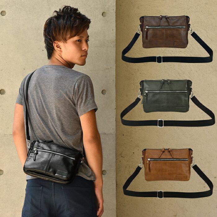 メンズ ミニショルダーバッグ TRICKSTER Brave Collection BROOKS(ブルックス) 鞄 男性用 カバン 送料無料!(地域限定)