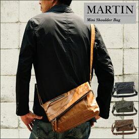 ミニメッセンジャー メンズ 小さめ コンパクトミニメッセンジャーバッグ TRICKSTER martin マーティン ショルダー 送料無料!(地域限定)